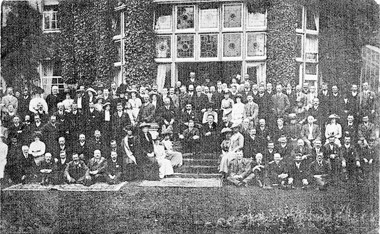 Large Group at Gwernyfed Hall