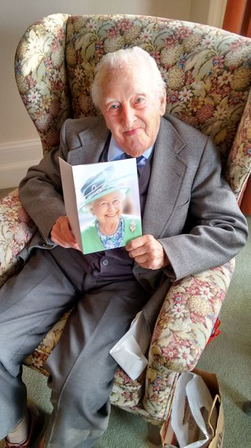 Our President, Dr Owen Forester celebrated his one hundredth birthday on 20th October 2015