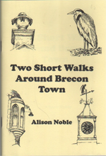 Two Short Walks Around Brecon cover